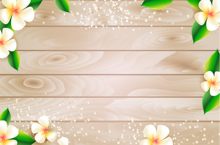 Summer sale web background design with botanical elements. Vector illustration.