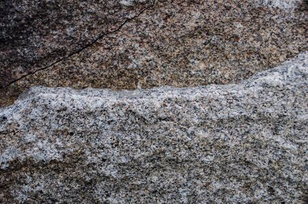 Grey and Grainy Granite texture for background. Closeup Shot of natural gray stone Stock Photo