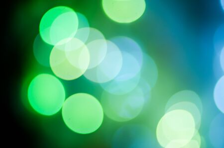 Christmas background. Festive abstract background with bokeh defocused lights.