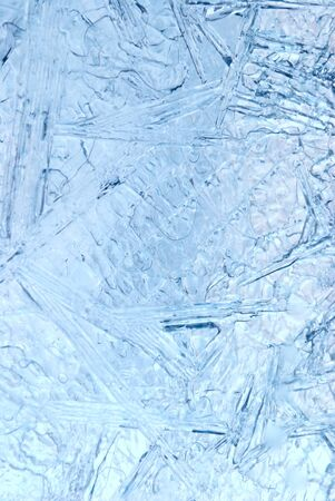 abstract ice background closeup Stock Photo - 8879199