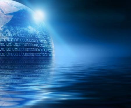 abstraktní země v informačním oceánu