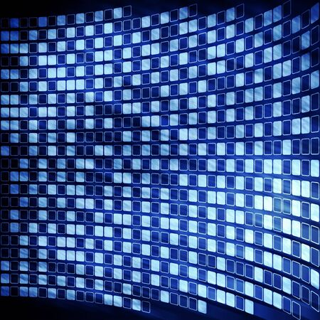abstract cyberspace digital blue background