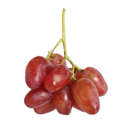 red grape isolated on white background Reklamní fotografie
