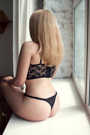 Plump blonde