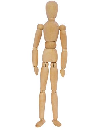 niño parado: mannequin