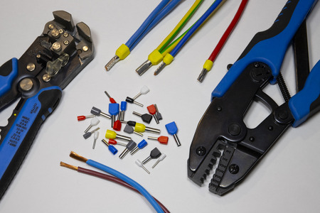 Tools and materials for stripping and crimping