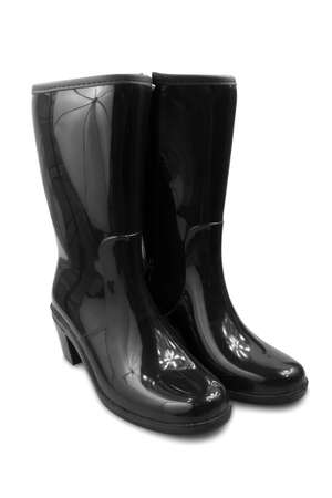 rubber: rubber boots