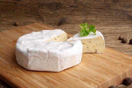camembert: Camembert cheese brie Stock Photo