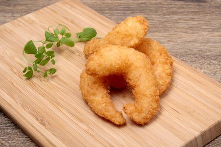 batter: Deep fried shrimp in batter oregano