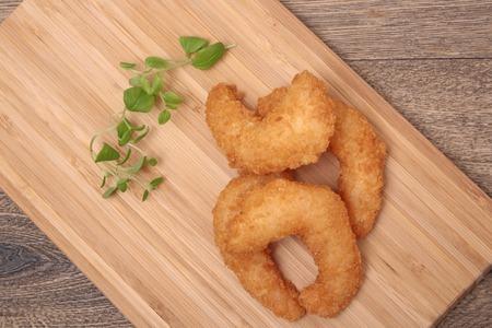 oregano: Deep fried shrimp in batter oregano