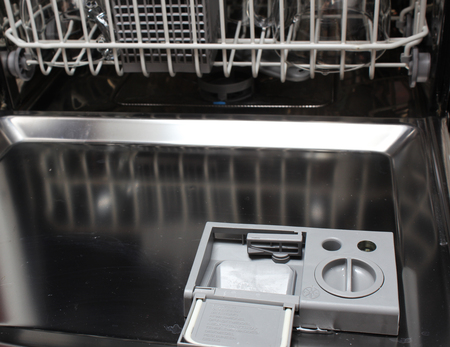 dishwasher compartment for detergent