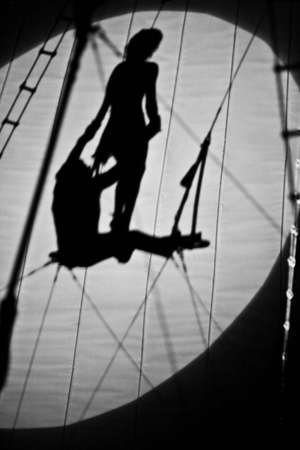 deftness: photo of shadows in circus. A little blurry, but good for background