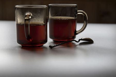 Glasses with tea Stock Photo - 4118072