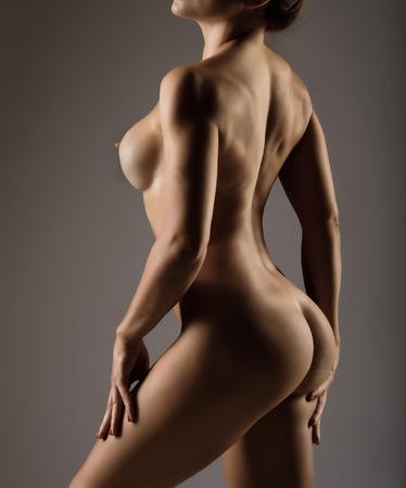 Обнаженное Женское Тело С Шерстяной Видом