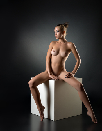 Perfect Flexible Sexy Body Of Young Woman Art Nude