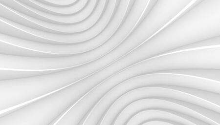 3d render abstract motion white lines on a white background. Texture splash, background