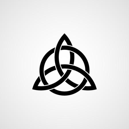 celtica: Celtic Knot trinità. Vettoriali