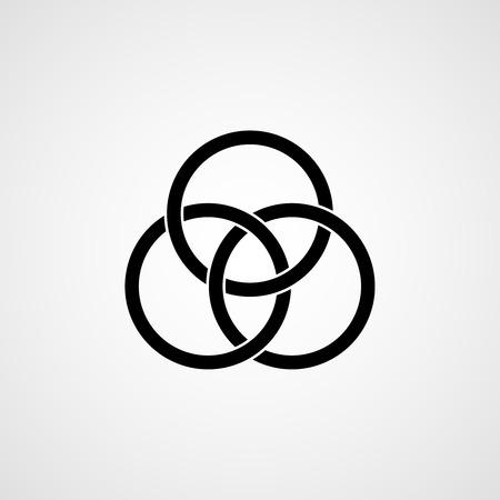 celtic: Celtic knot. illustration Illustration