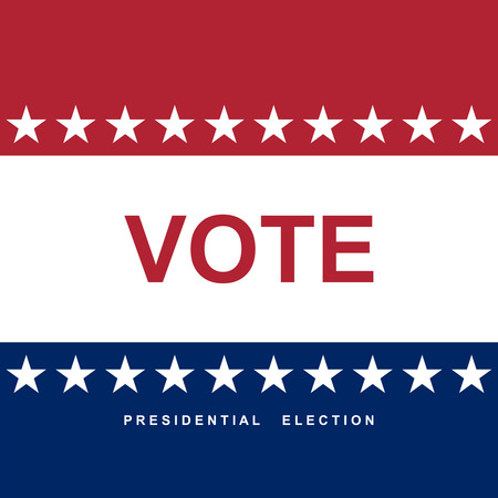 election day: Vote. Election day. background