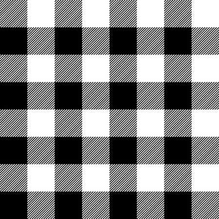 Lumberjack plaid pattern vector 일러스트