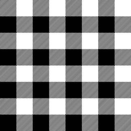 A cuadros de leñador vector patrón