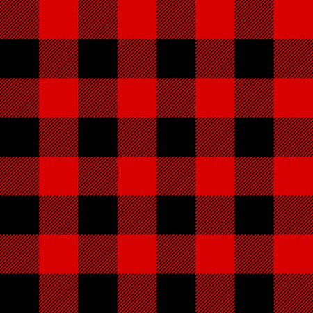 Lumberjack plaid seamless pattern vector