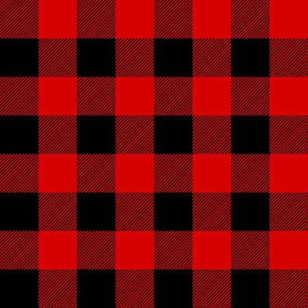 Lumberjack Plaid nahtlose Muster Vektor Standard-Bild - 54550772