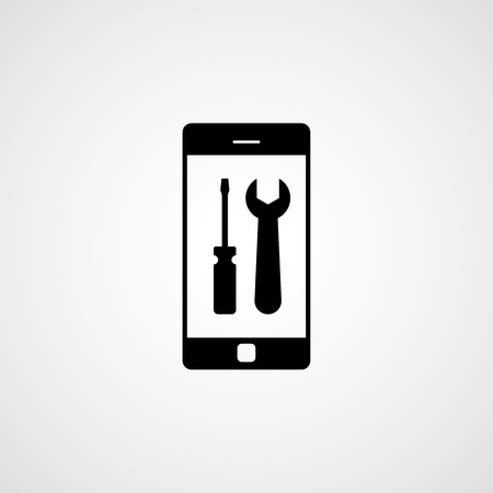 phone icon: Phone repair icon