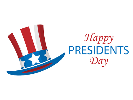 Presidents day poster. Vector illustration Vettoriali