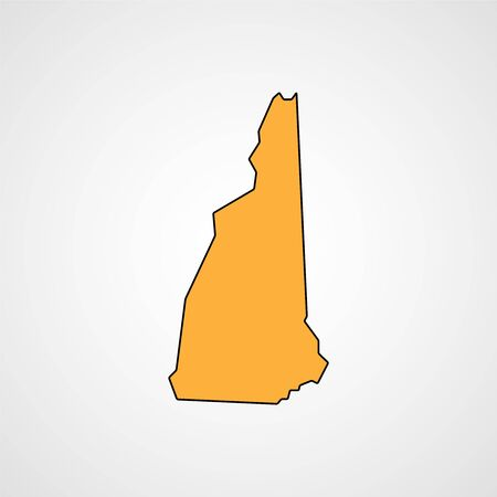topographical: New Hampshire Map