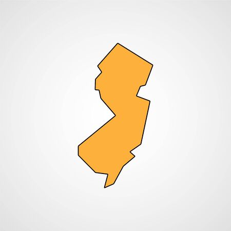 jersey: New jersey map