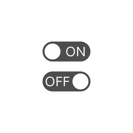 OnOff switch. Vector icon