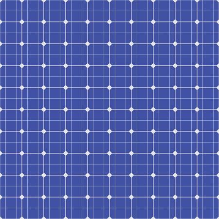 Modello senza soluzione di continuità del pannello solare. Illustrazione vettoriale Archivio Fotografico - 89400753