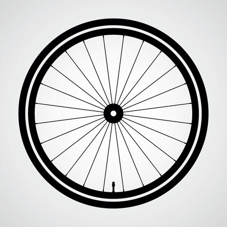 bicyclette roue icône