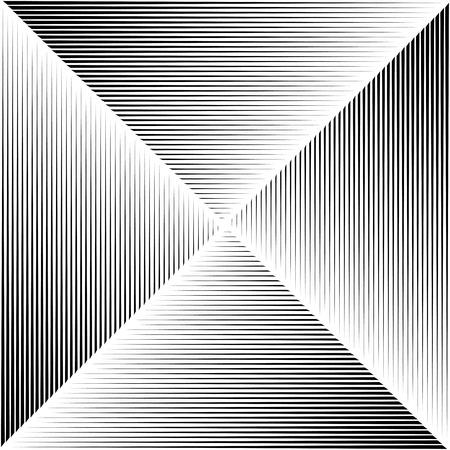 Black gradient stripes background. Vector Çizim