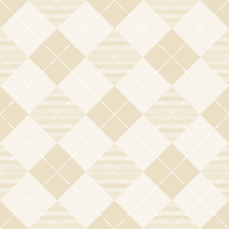 Seamless pattern of diagonal plaid. Vector illustration