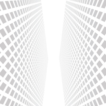Vector illustration  Abstract skyscrapers background Vector