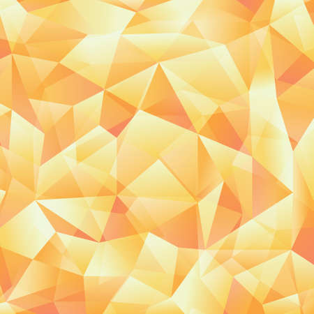 toned: Abstract yellow toned triangle background Illustration