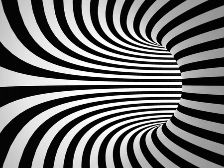 Black and white stripes abstract background Stock Photo