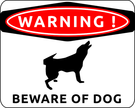 Warning sign of