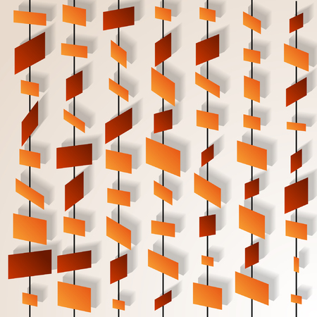 Abstract 3d geometric background. Vector illustration. Illustration