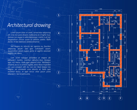 Architectural background. Vector illustration design concept idea