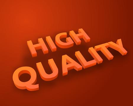 High quality text banner design