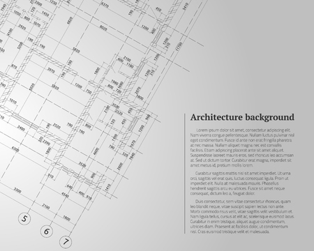Architectural illustration design