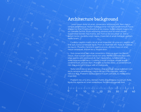 Architectural backdrop design