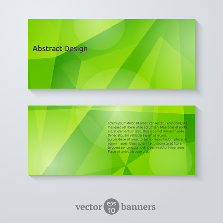 Geometric design for flyers, banners and presentations. Vector illustration.