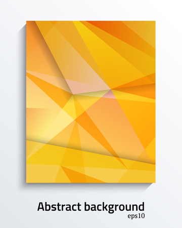 Abstract colorfull triangular vector design  for brochures, web sites, and backgrounds 矢量图像
