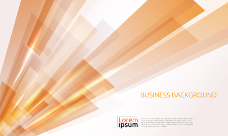 Business abstract orange background. Vector illustration.