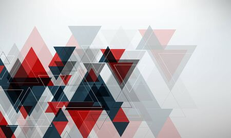 Abstract geometric background. Trendy overlapping triangles. Vector illustration for flyers, presentations and covers.