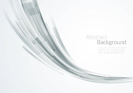 Abstract smooth perspective background. Vector light trancperent illustration.
